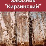 Заказник «Кирзинский»